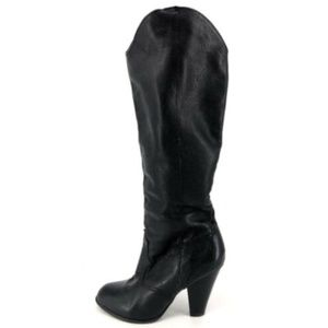 DOLCE VITA Tall Knee High Riding Leather Boots 6.5